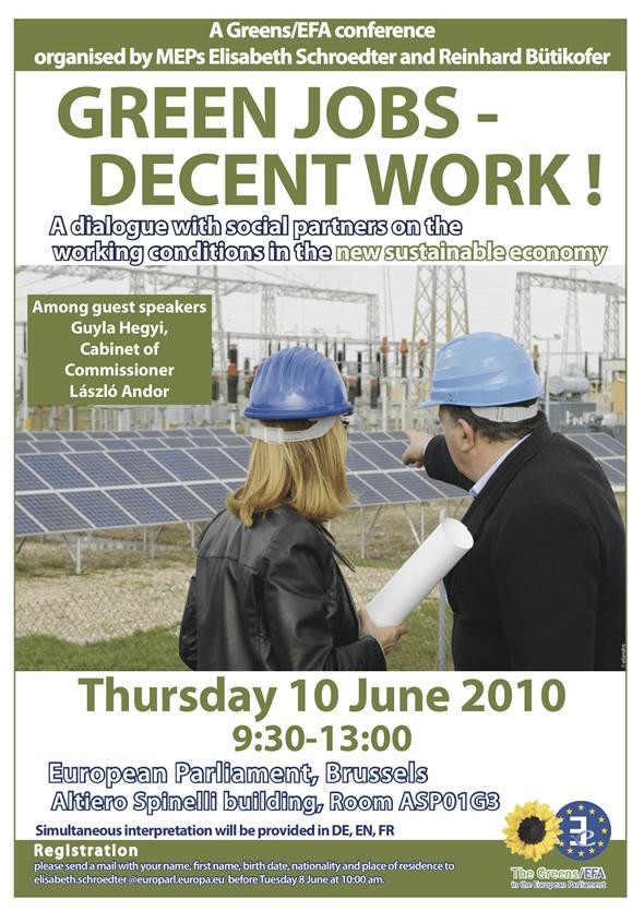 Green Jobs Poster