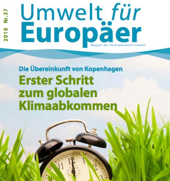 Titelseite von Umwelt für Europäer