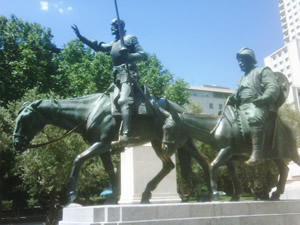 Don Quixote in Madrid