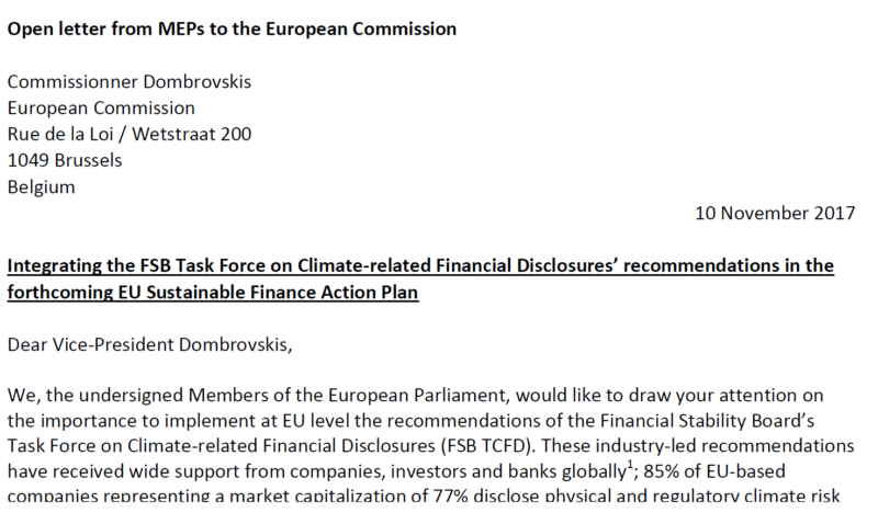 open letter from meps to the vice president dombrovskis
